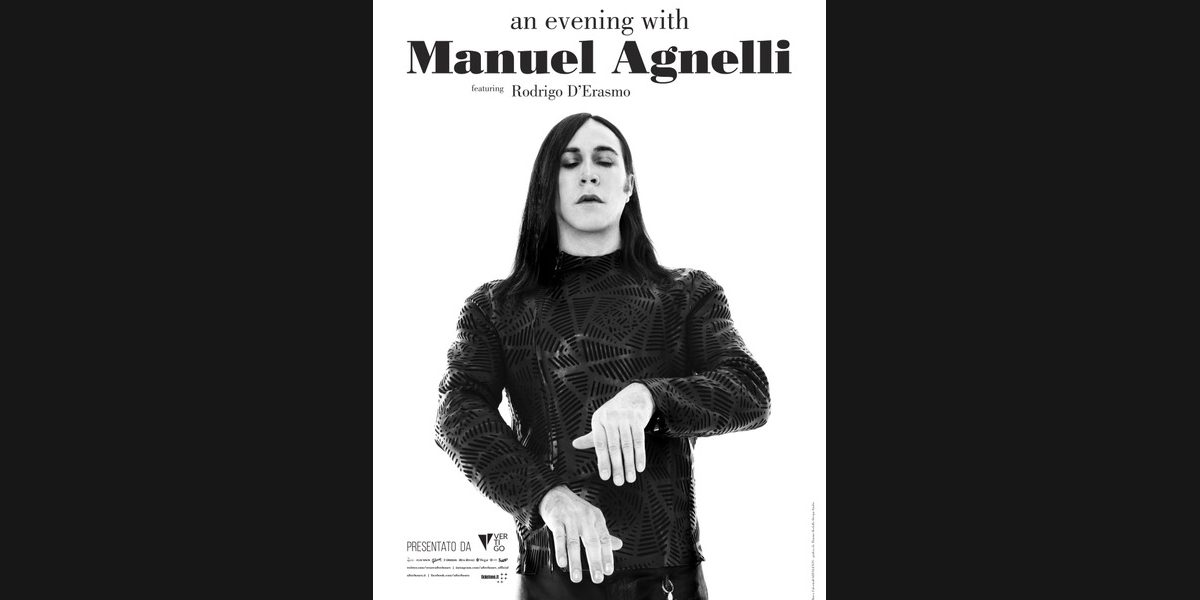 An Evening with MANUEL AGNELLI // GENOVA