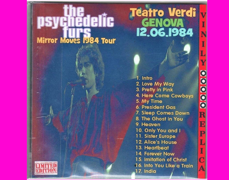 Psychedelic Furs - Bootleg